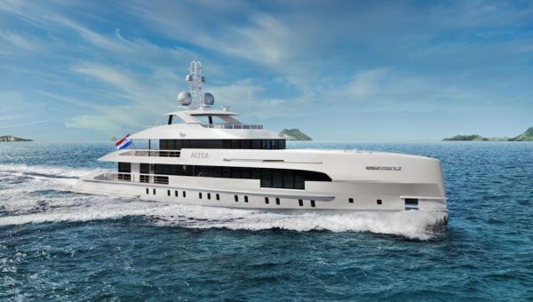 Delivery Of Yn 19150 Amare Ii Heesen Yachts